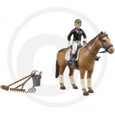 Igrača Jahačica s konjem Bruder