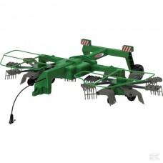 Igrača zgrabljalnik Twin za traktor Fendt 1050 Vario na daljinca